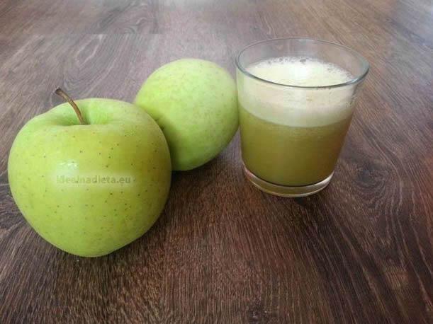 jablková šťava