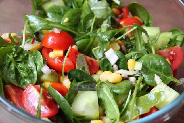 lahky salat na chudnutie