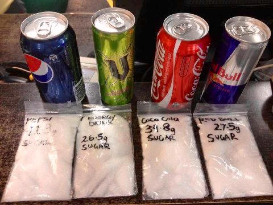 sladené nápoje | facebook.com