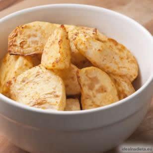 Zdravé pikantné pečené zemiaky | eatingwell.com