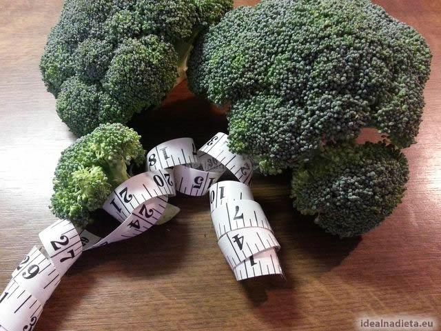 chudnutie s brokolicou