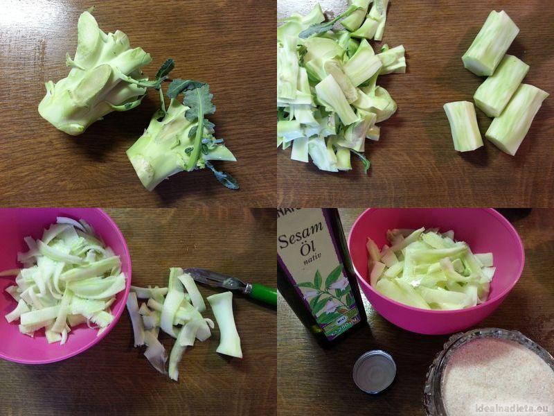 fit šalát z brokolice