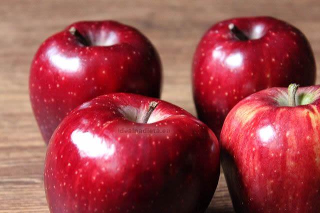 zdrave cervene jablka