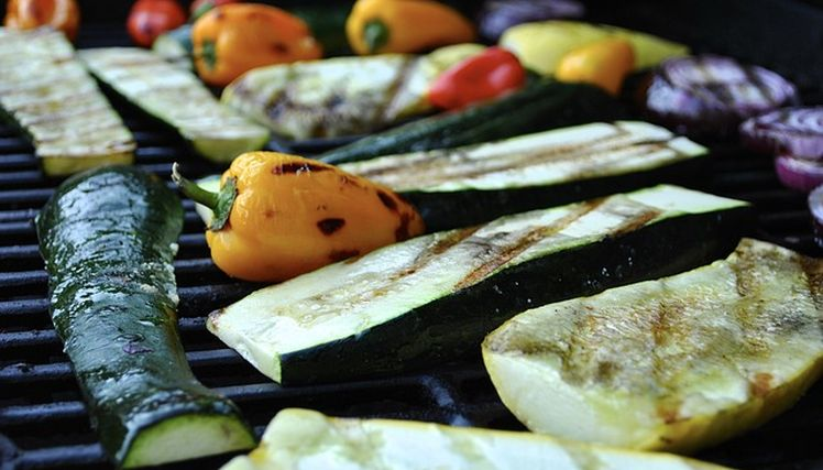 grilovanie zeleniny
