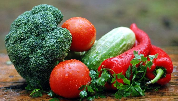 zelenina na chudnutie
