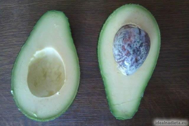 zdravé chutné avokádo