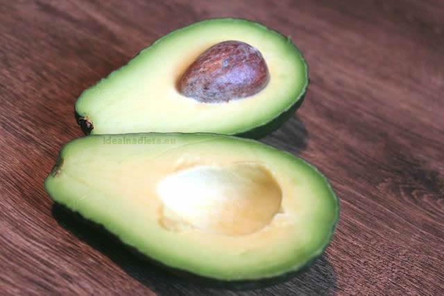 nutričné hodnoty avokádo