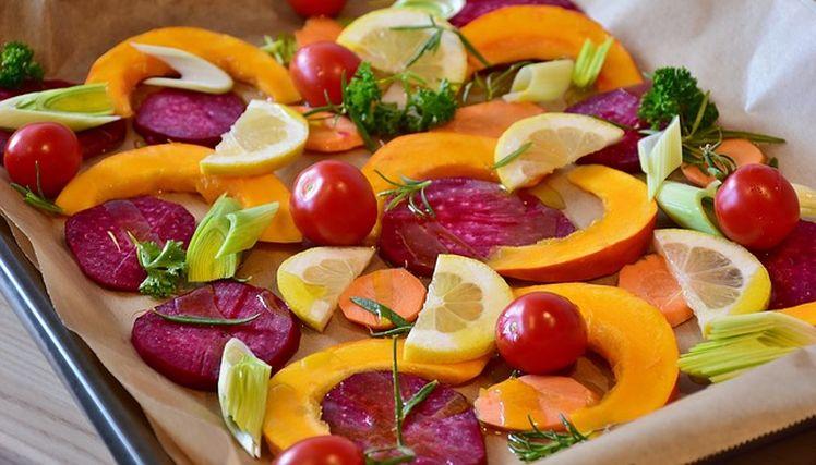 pecenie zeleniny